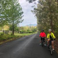 Country lanes are part of the diverse cycle landscape on the South Coast Cycle | Kate Baker