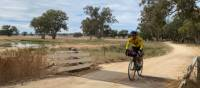 Crossing a small bridge on the route between Mendooran and Dunedoo   Michele Eckersley