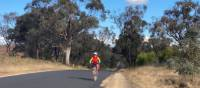 Cycling an e-bike on the CWC out of Gulgong | Michele Eckersley