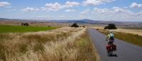 Vast landscapes feature while cycling from Jindabyne to Dalgety   Ross Baker