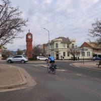 Cyclist in Mudgee | Ross Baker
