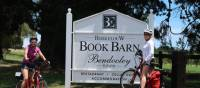 Cyclists at the Berkelouw Book Barn and cafe near Bowral | Kate Baker