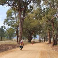 Cyclists on the Glen Alice road in the Capertee Valley | Ross Baker