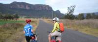 Cyclists on the Glen Davis Road in the Capertee   Ross Baker