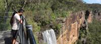Impressive Fitzroy Falls, visited enroute to Bundanoon on the Southern Highlands Cycle | Kate Baker