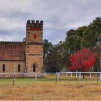 Old church enroute to Mudgee on the Lue Road | Ross Baker
