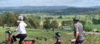 Cyclists taking in the view between Bowral and Robertson | Kate Baker