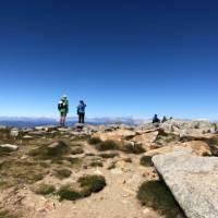 Top of Australia on the summit of Koscuiszko   Kate Baker