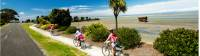 Cyclists on the Great Taste Cycle Trail at Motueka |  <i>Dean McKenzie</i>