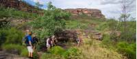 Walking up on to the Nourlangie Massif, Kakadu Walking Adventure |  <i>Rhys Clarke</i>