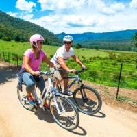 Cycling along the Murray to Mountains | David Kirkland