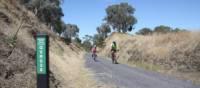 At 397m, Merton Gap is the highest point on the Great Victorian Rail Trail | Rail Trails Australia