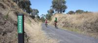 At 397m, Merton Gap is the highest point on the Great Victorian Rail Trail | Rail Trails Australia