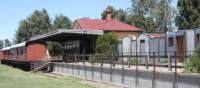 The former Mansfield Station is now home to the Mansfield Historical Society | Rail Trails Australia