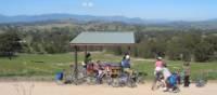 The view from Eglington Gap above Alexandra | Rail Trails Australia
