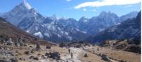 Going back down from Everest Base Camp |  <i>Michael Zanon</i>