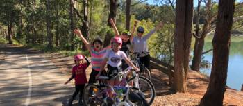 Family cycling holidays are a great way to keep kids active and entertained | Brad Atwal