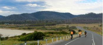 Cyclists explore Tasmania's east coast | Oscar Bedford